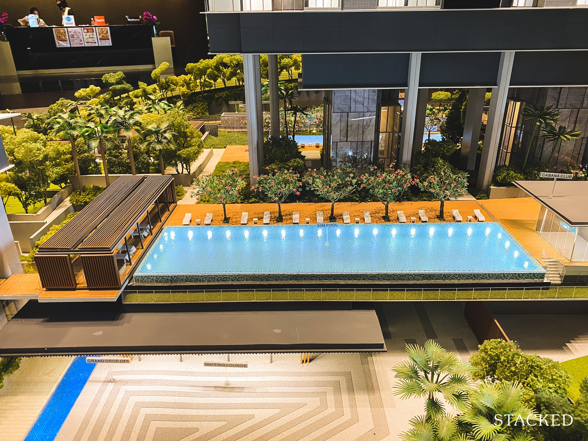 Stirling Residences lap pool