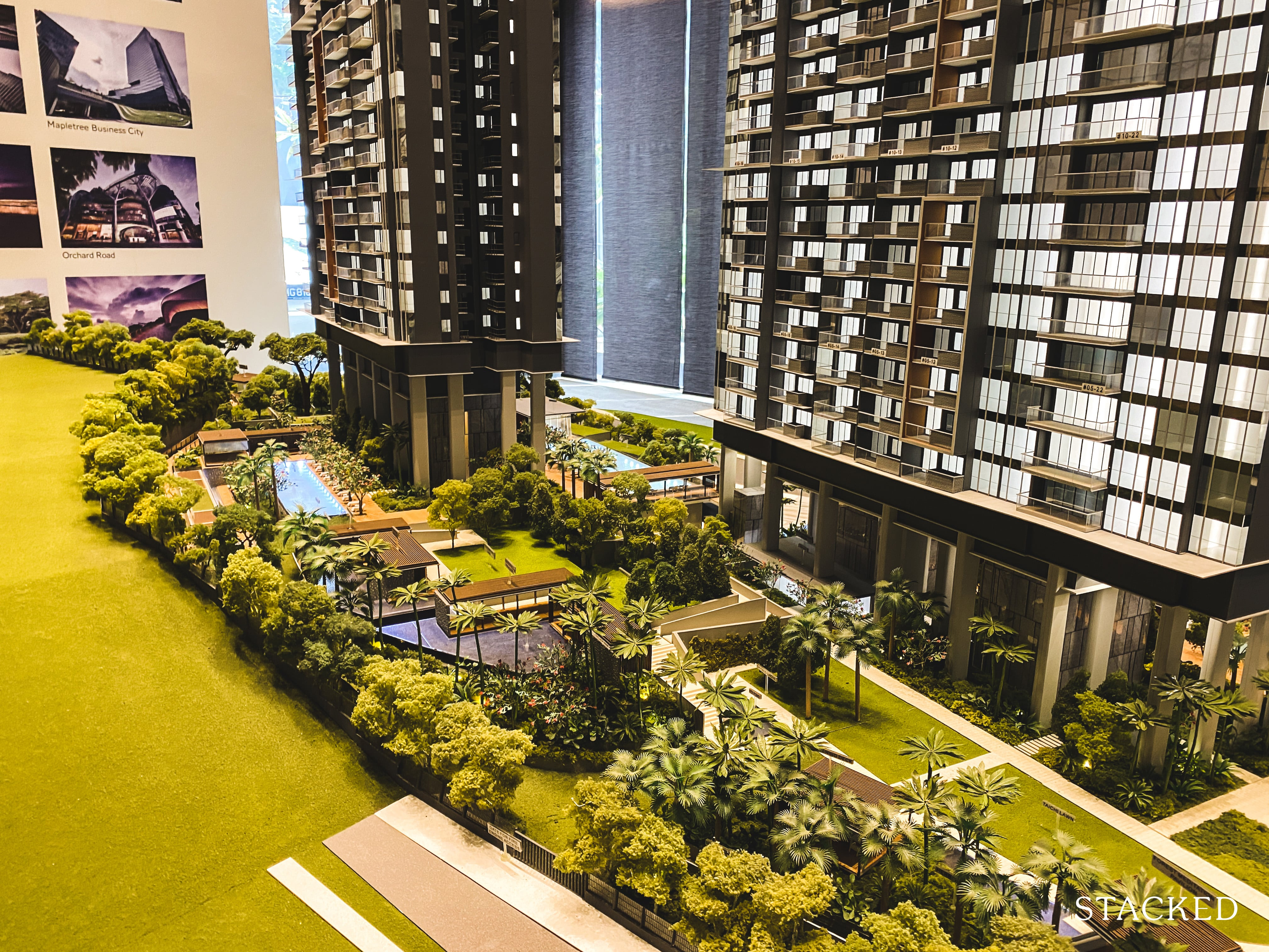 Stirling Residences forest