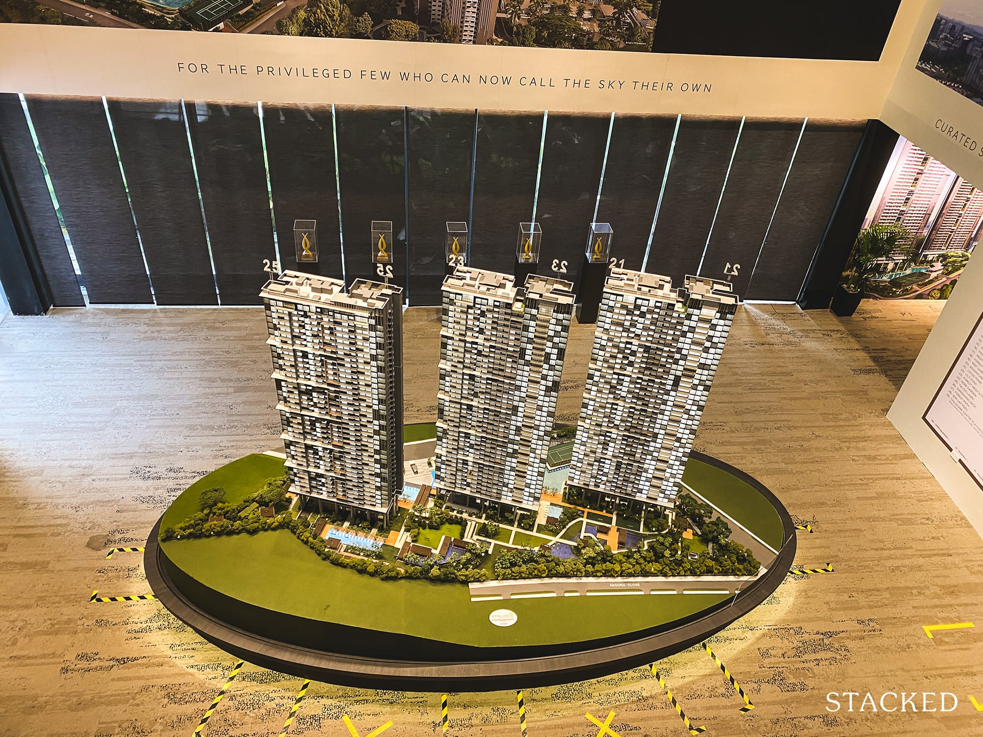 Stirling Residences showflat model