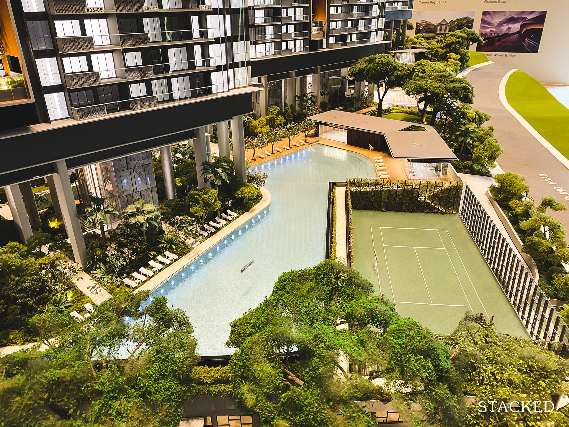 Stirling Residences swimming pool