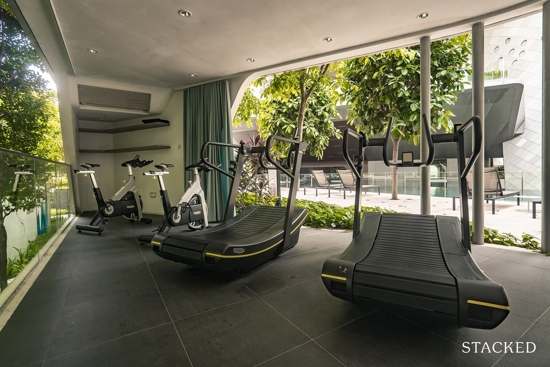 the Scotts tower fitness pod