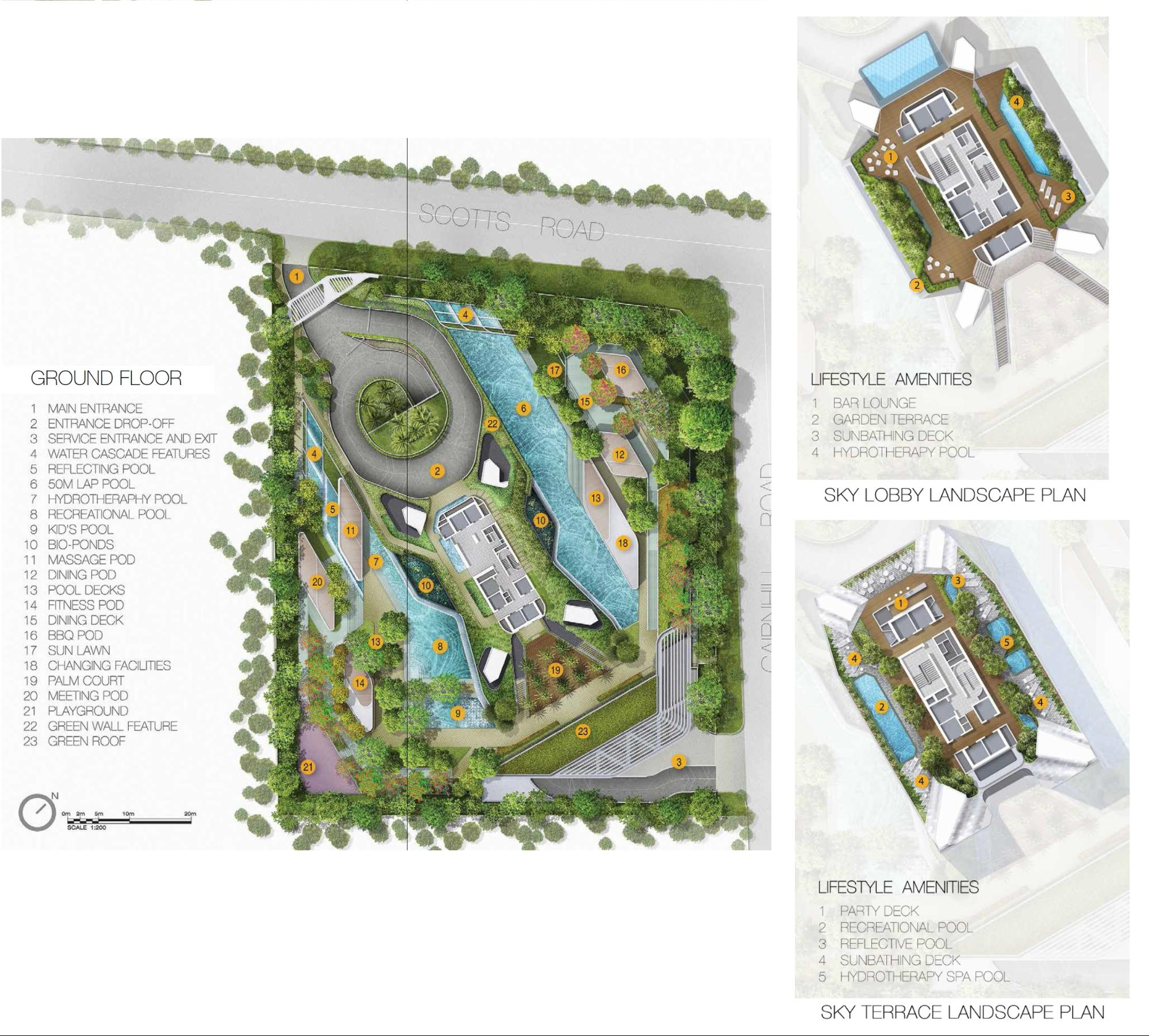 the scotts tower site plan