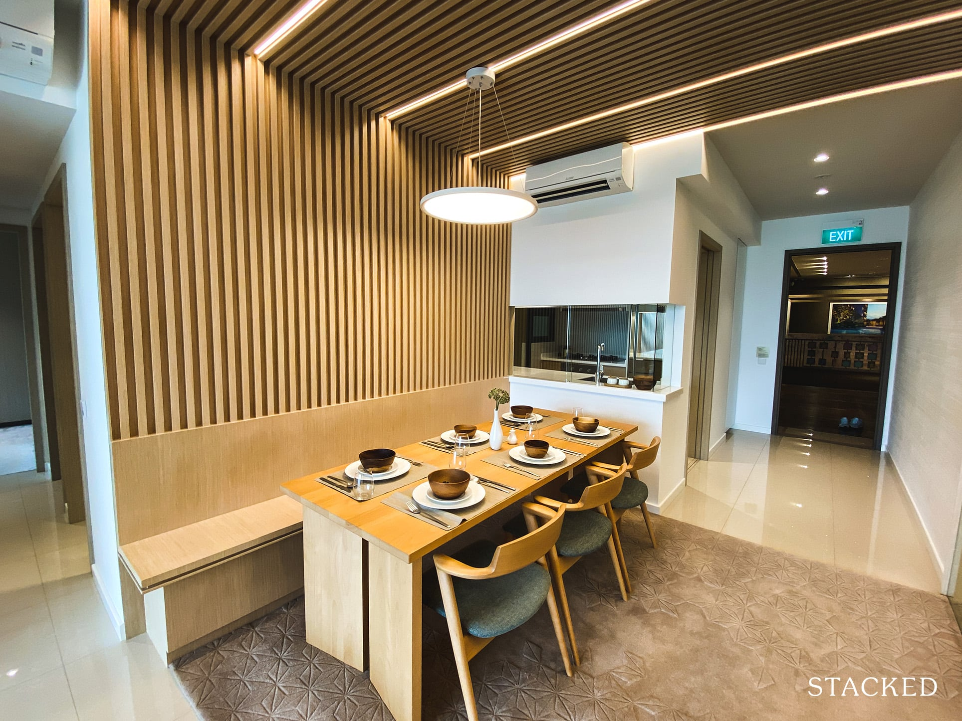 treasure at tampines 3 bedroom dining