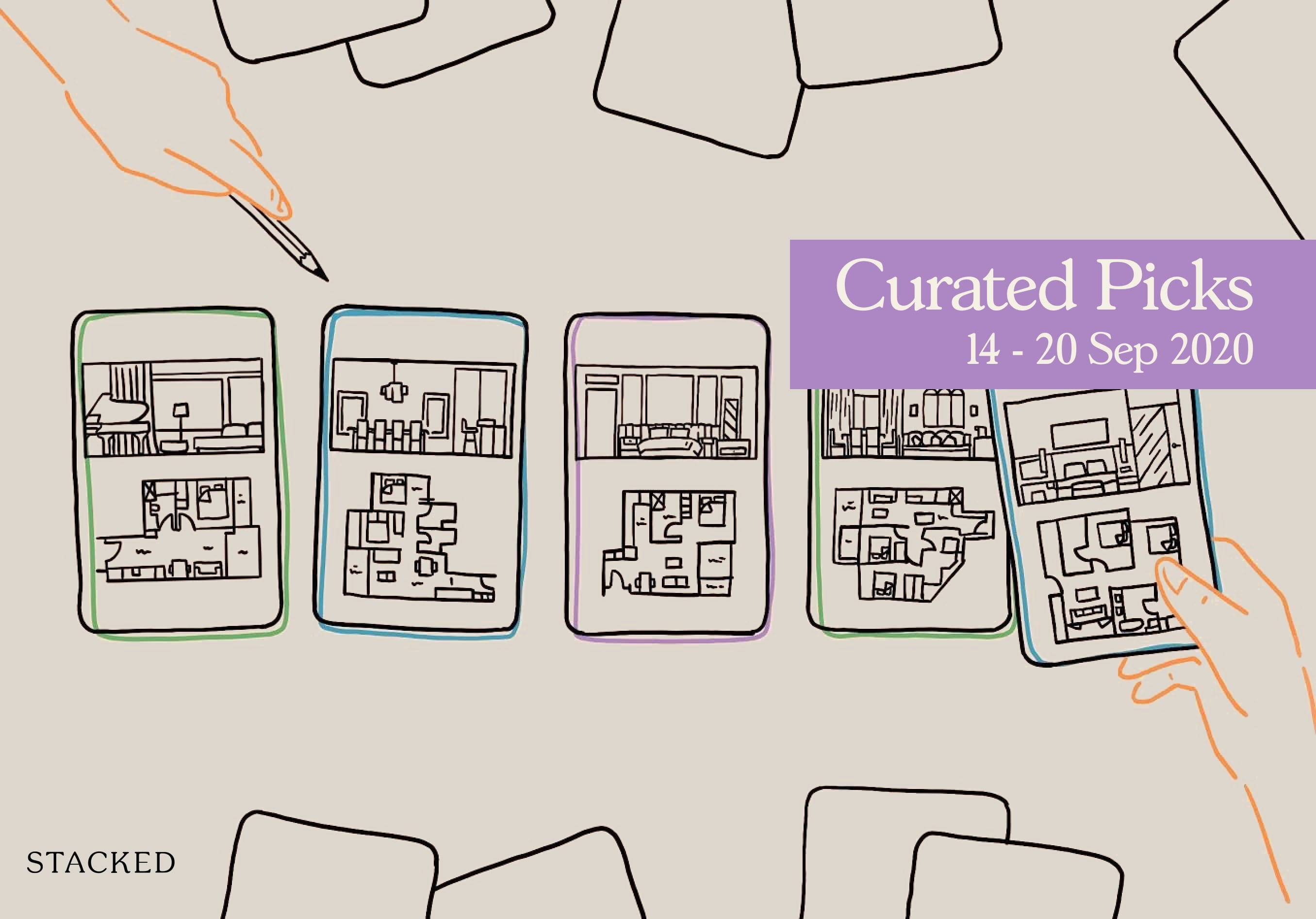 curated picks stacked homes