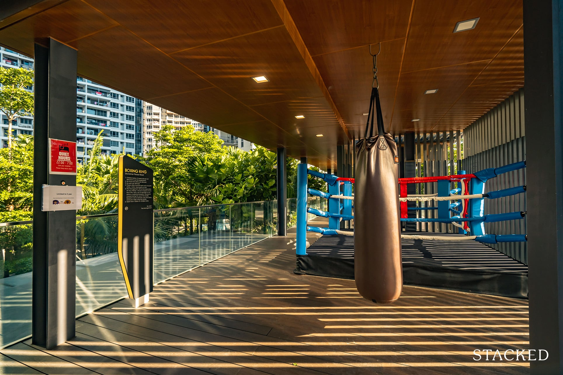 high park residences boxing ring