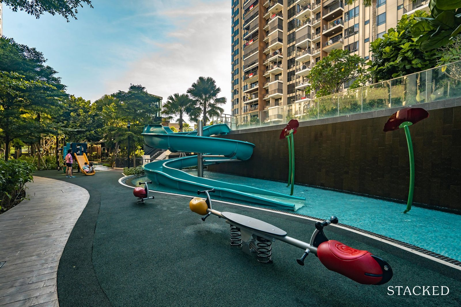 high park residences kids slides