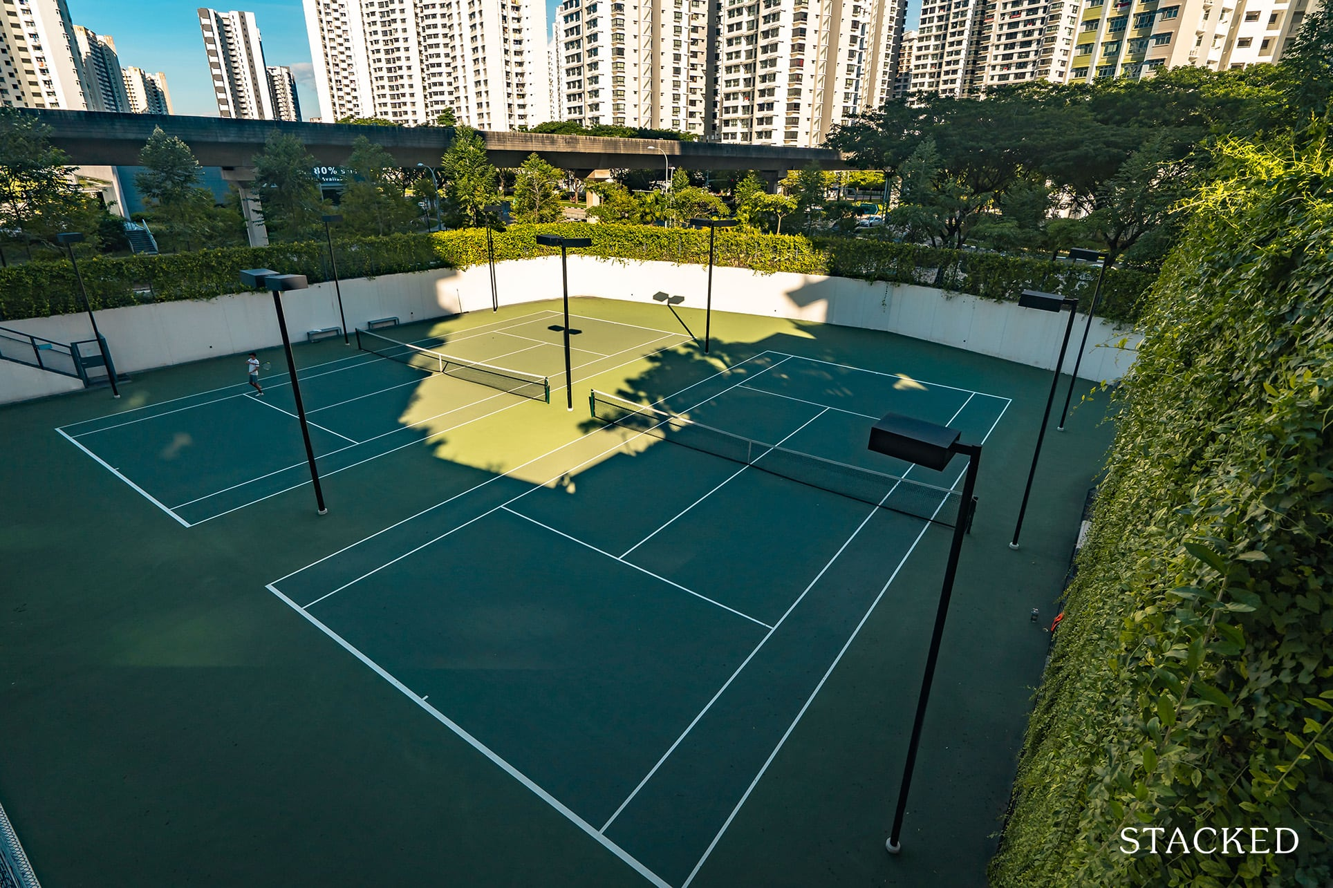 high park residences tennis courts