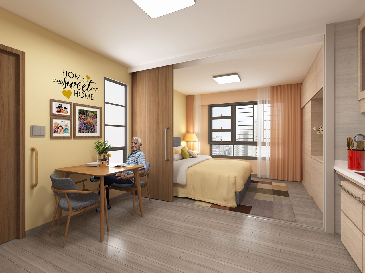 assisted living hdb
