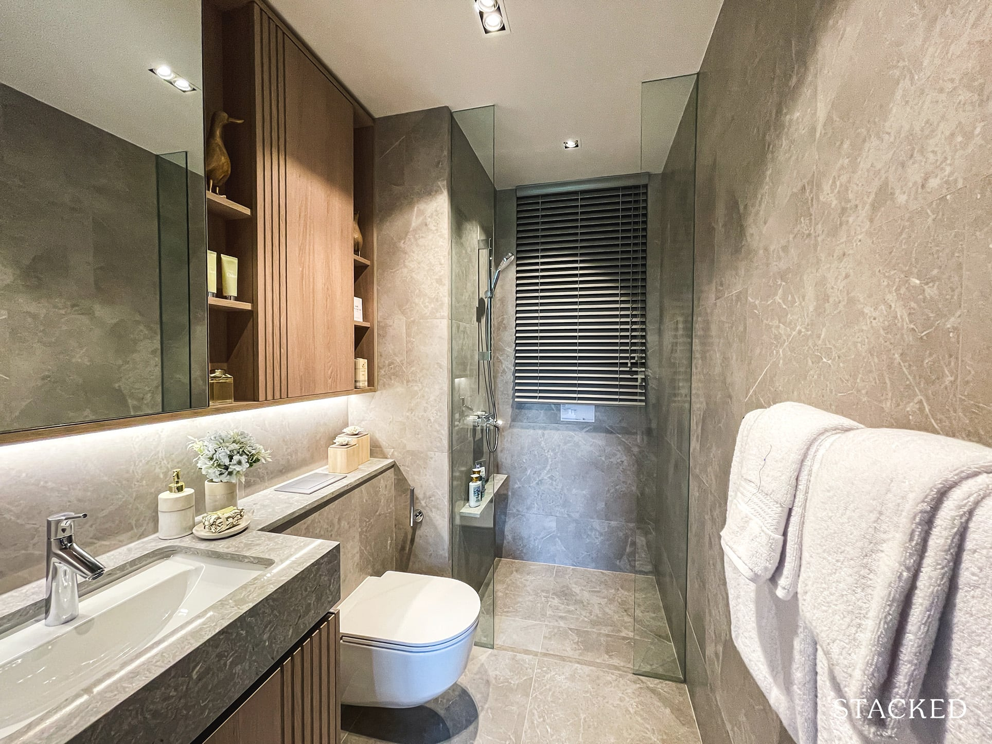 ki residences 4 bedroom premium common bathroom