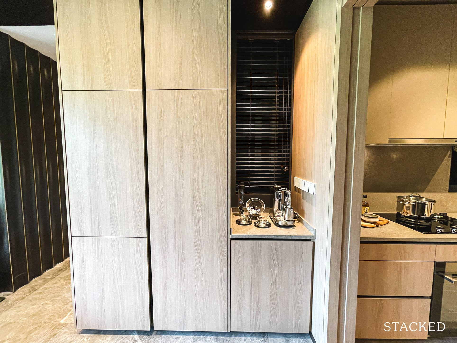 ki residences 4 bedroom premium kitchen storage