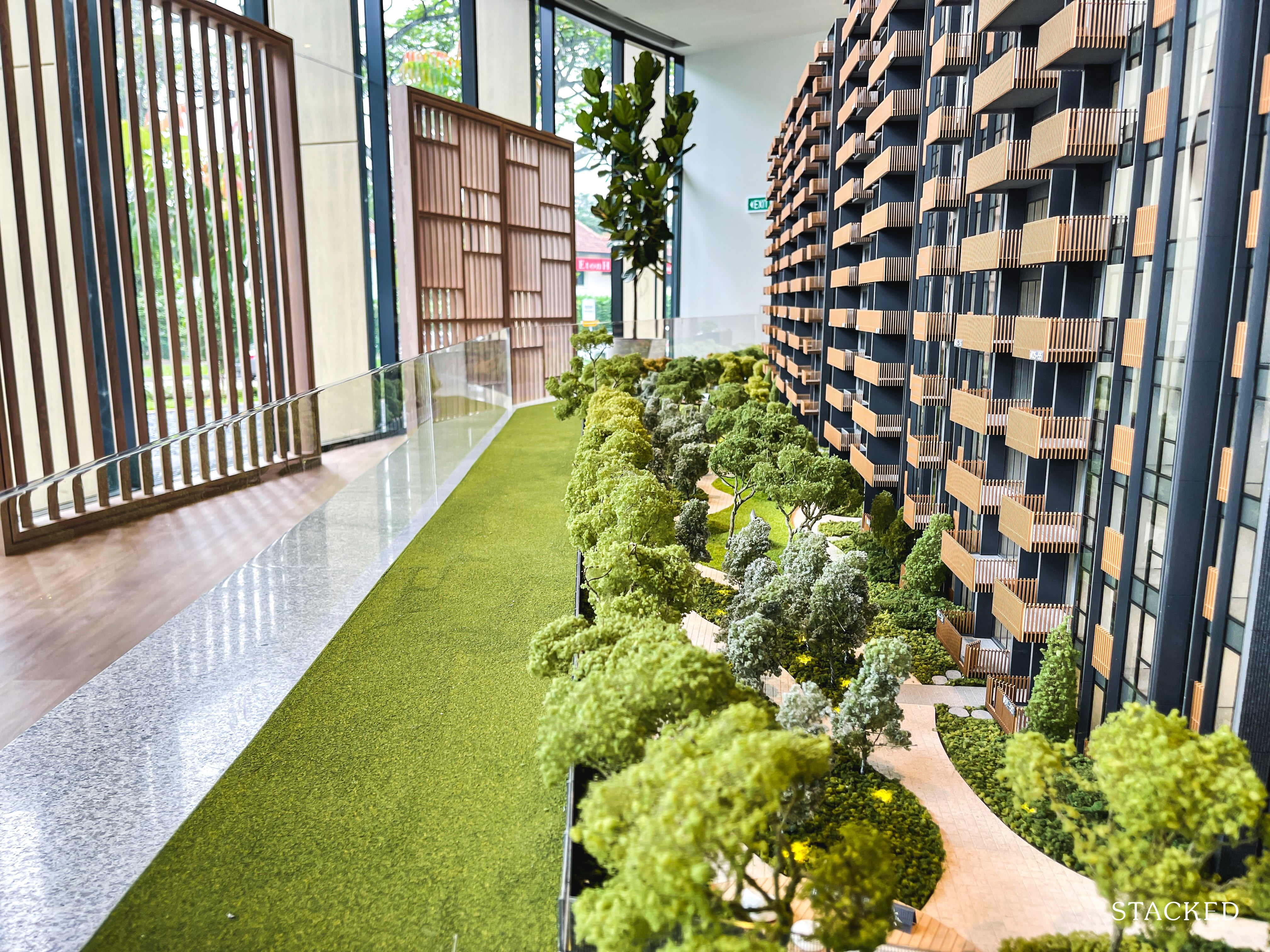 ki residences walking path