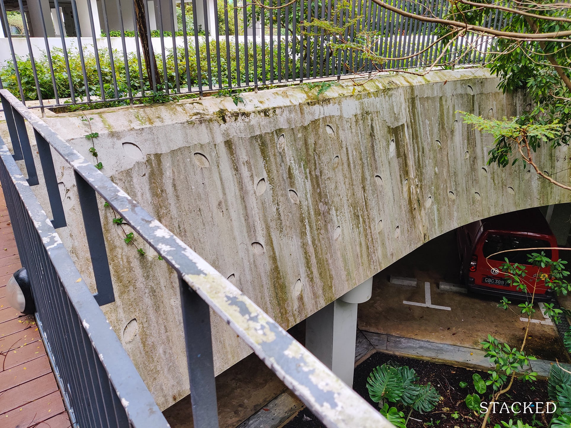 punggol waterway terraces poorly maintained