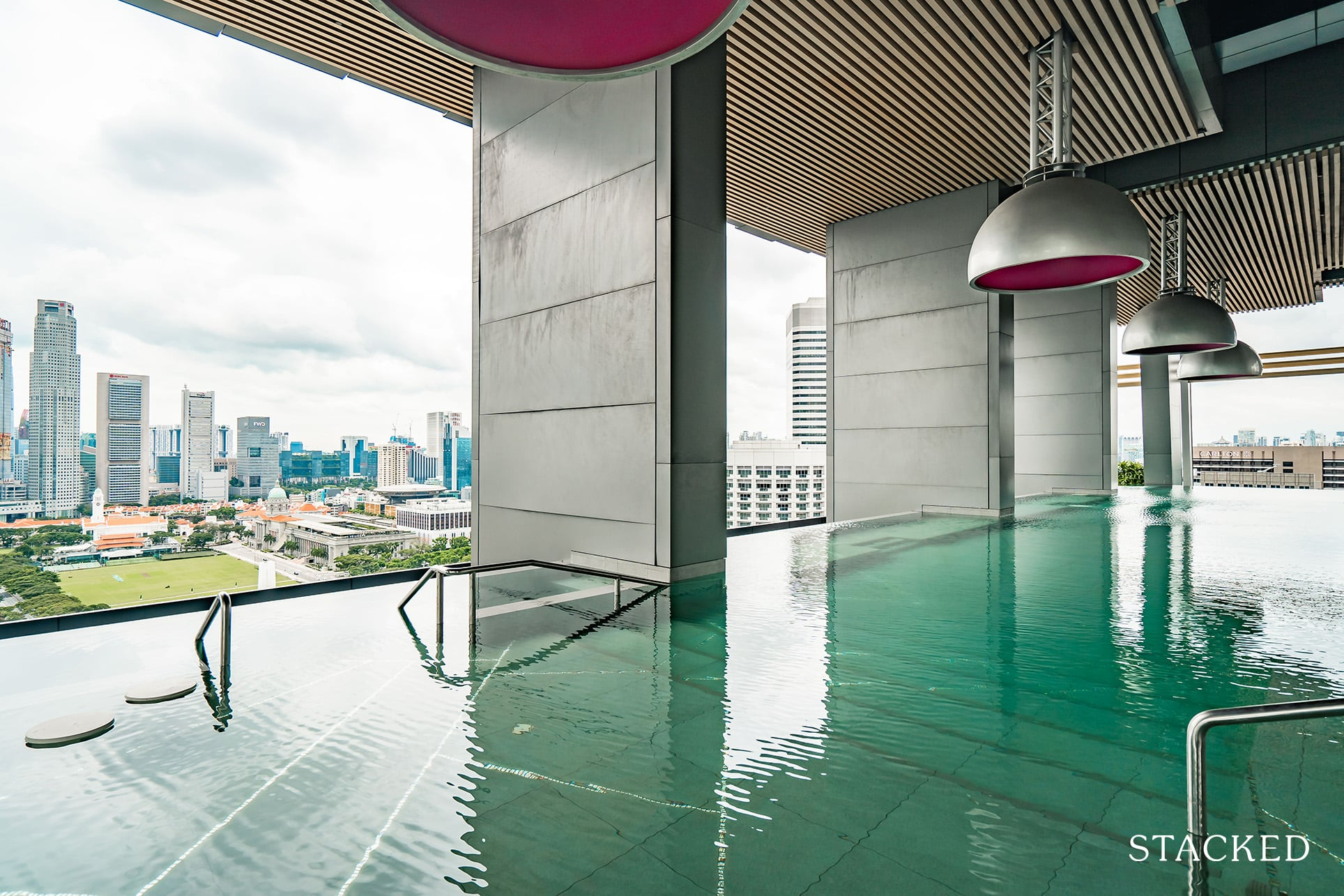 South Beach residences swimming pool