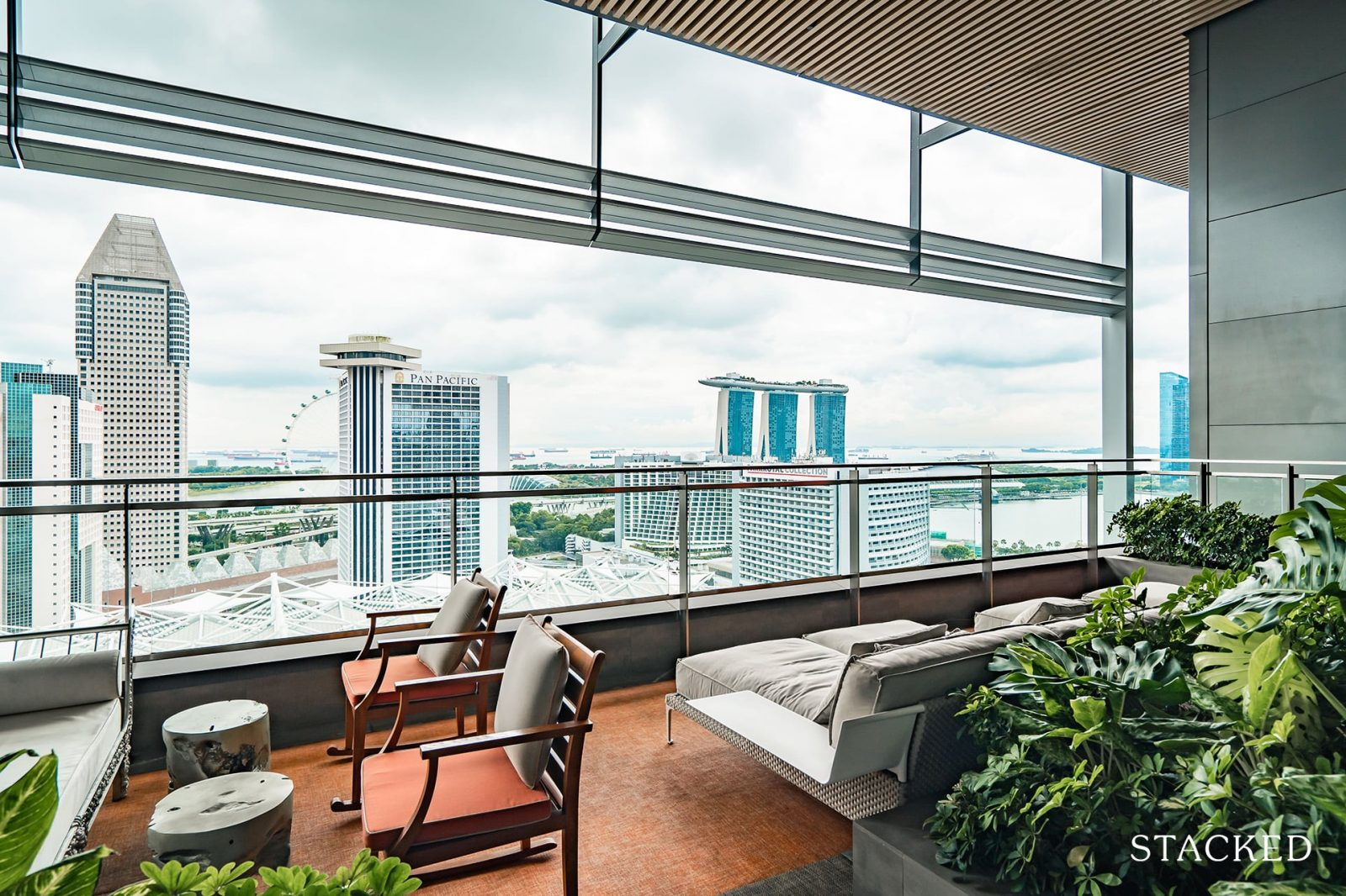 South Beach residences viewing gallery