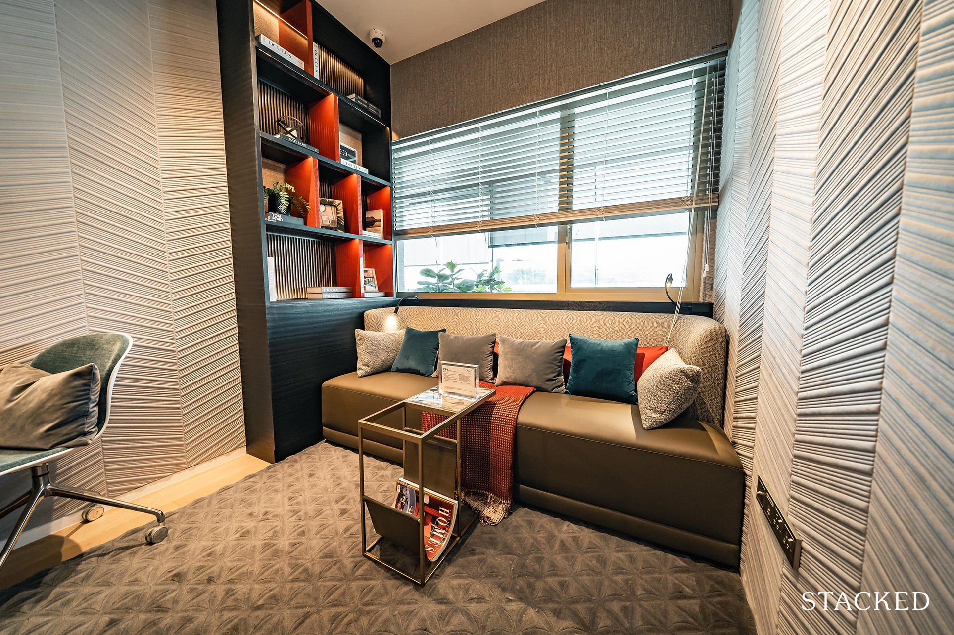 the reef at king's dock 3 bedroom study