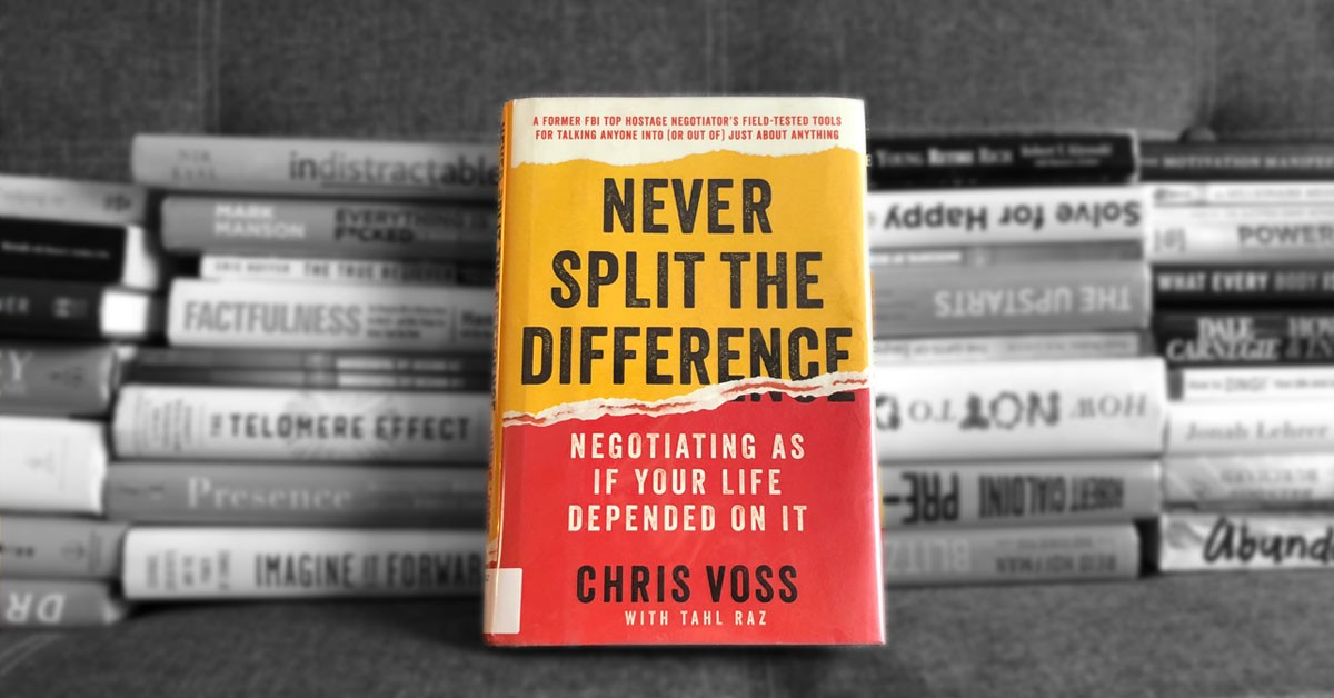 never split the difference negotiation