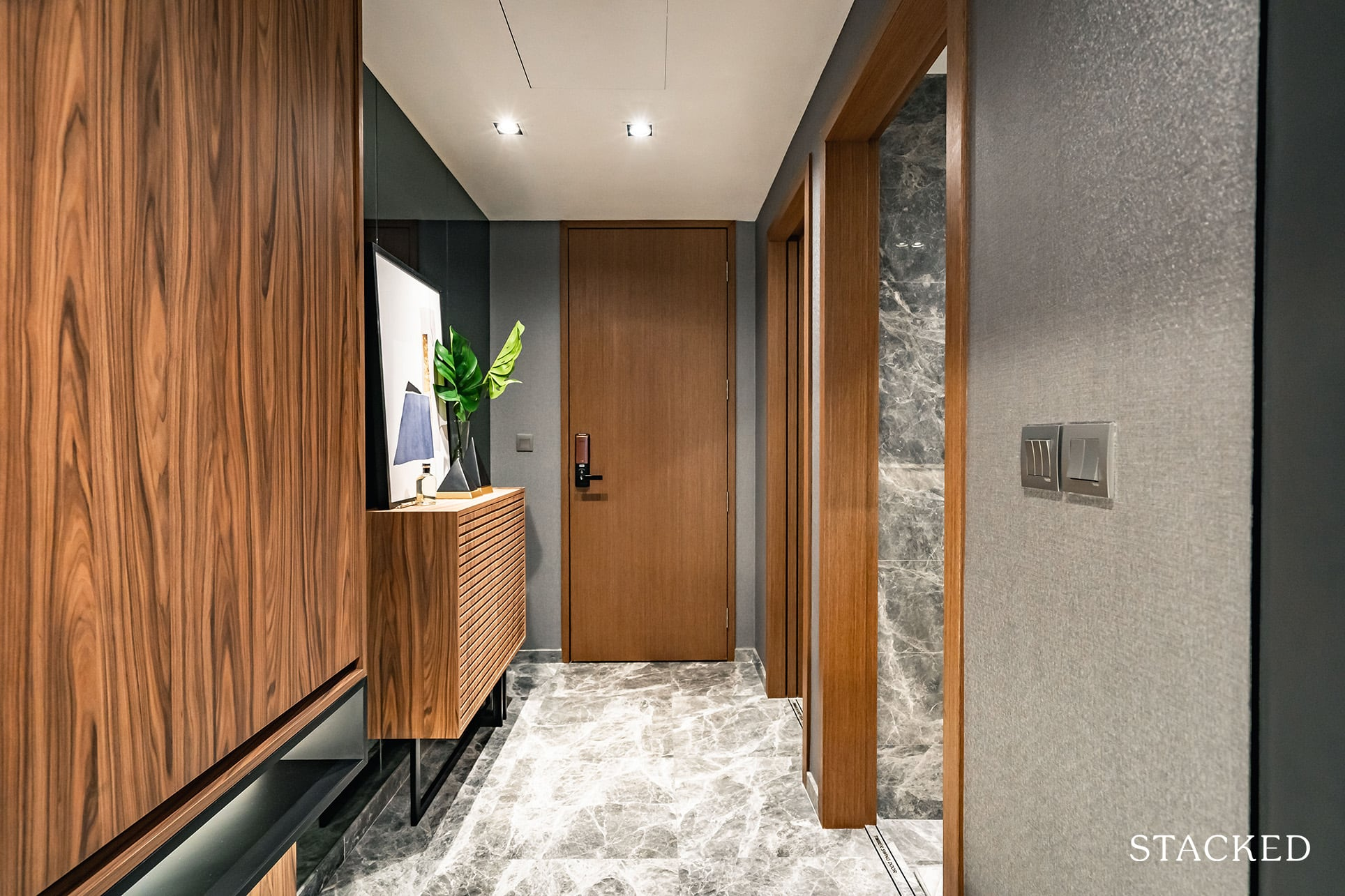 the atelier 3 bedroom entrance