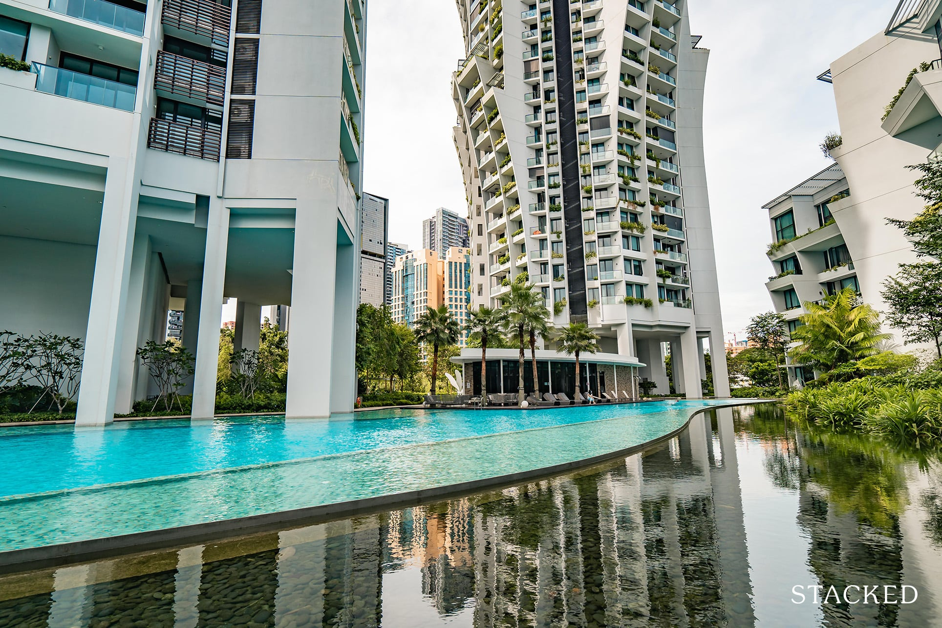 the crest condo 50m lap pool