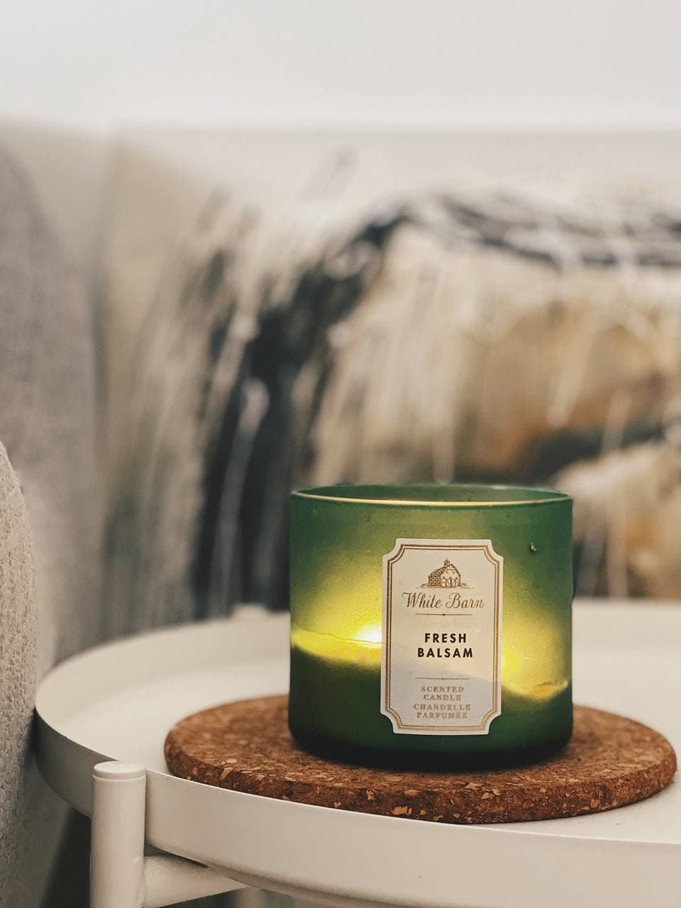scented candle home viewings