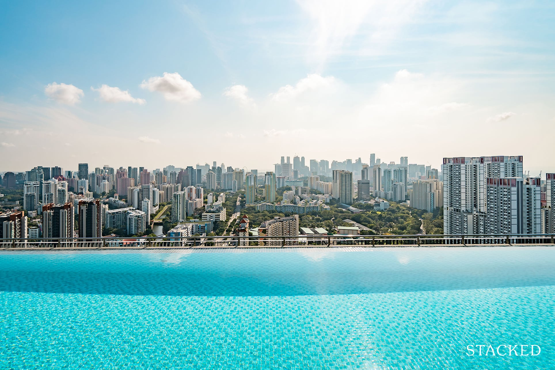 Alex residences sky pool view