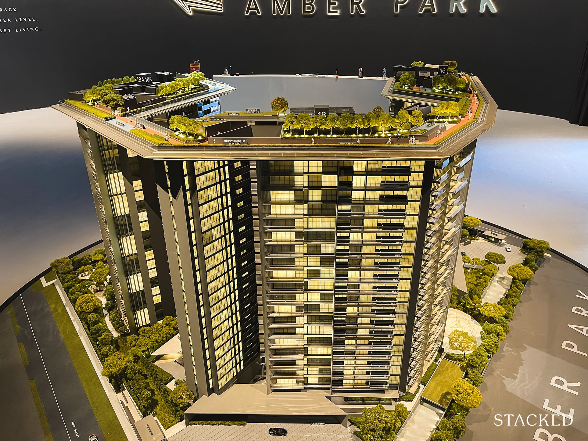amber park top overview