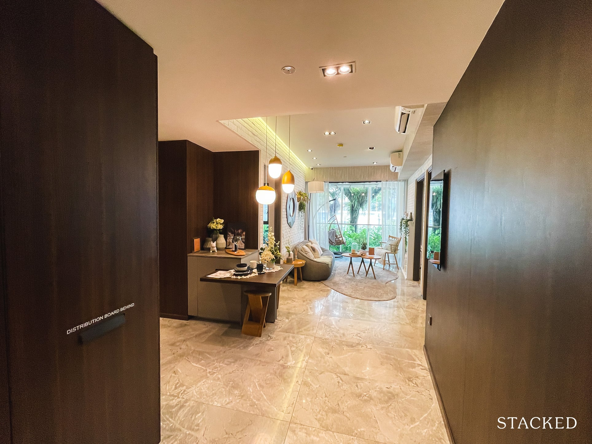 one pearl bank 2 bedroom entrance