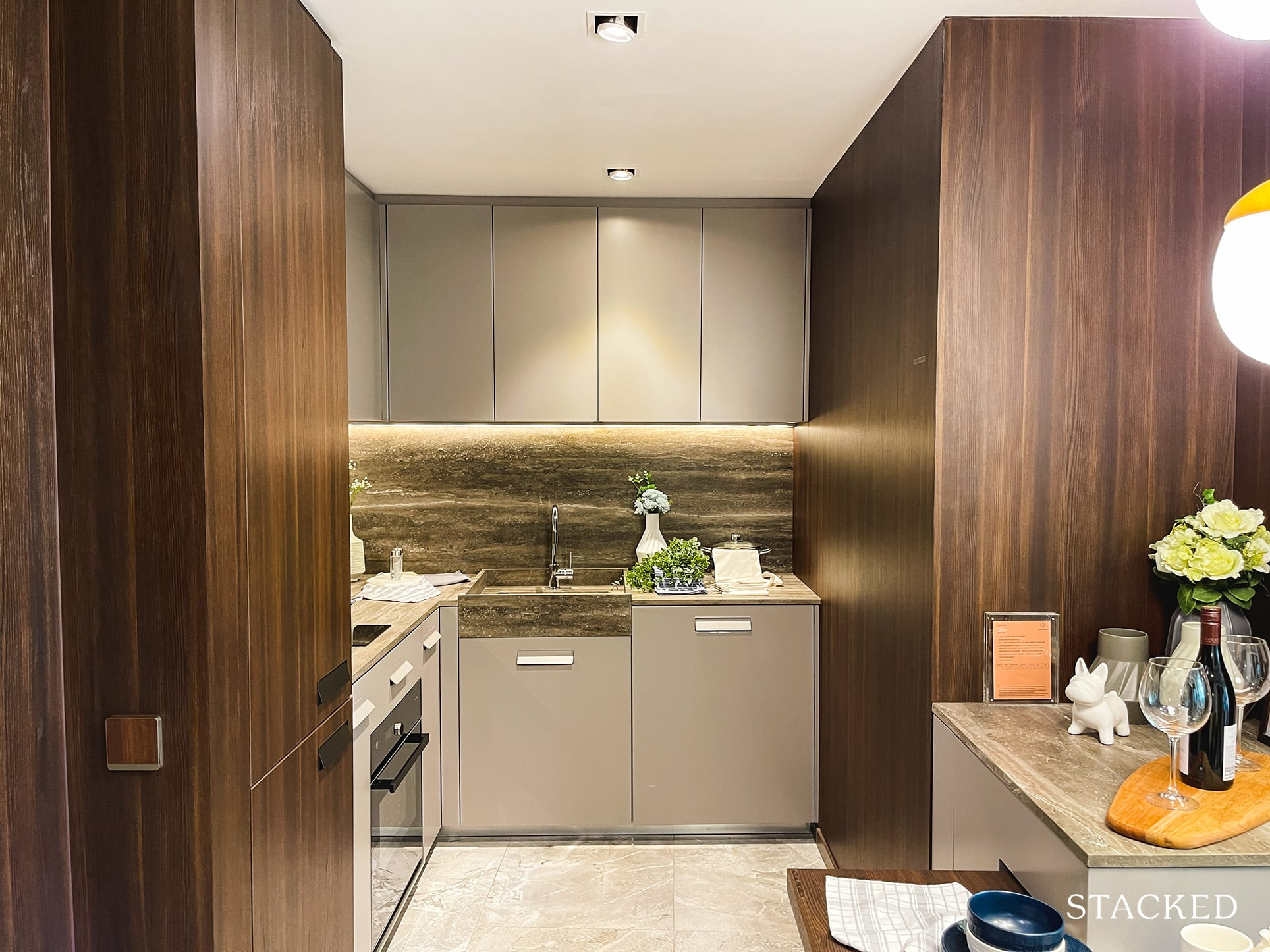 one pearl bank 2 bedroom kitchen