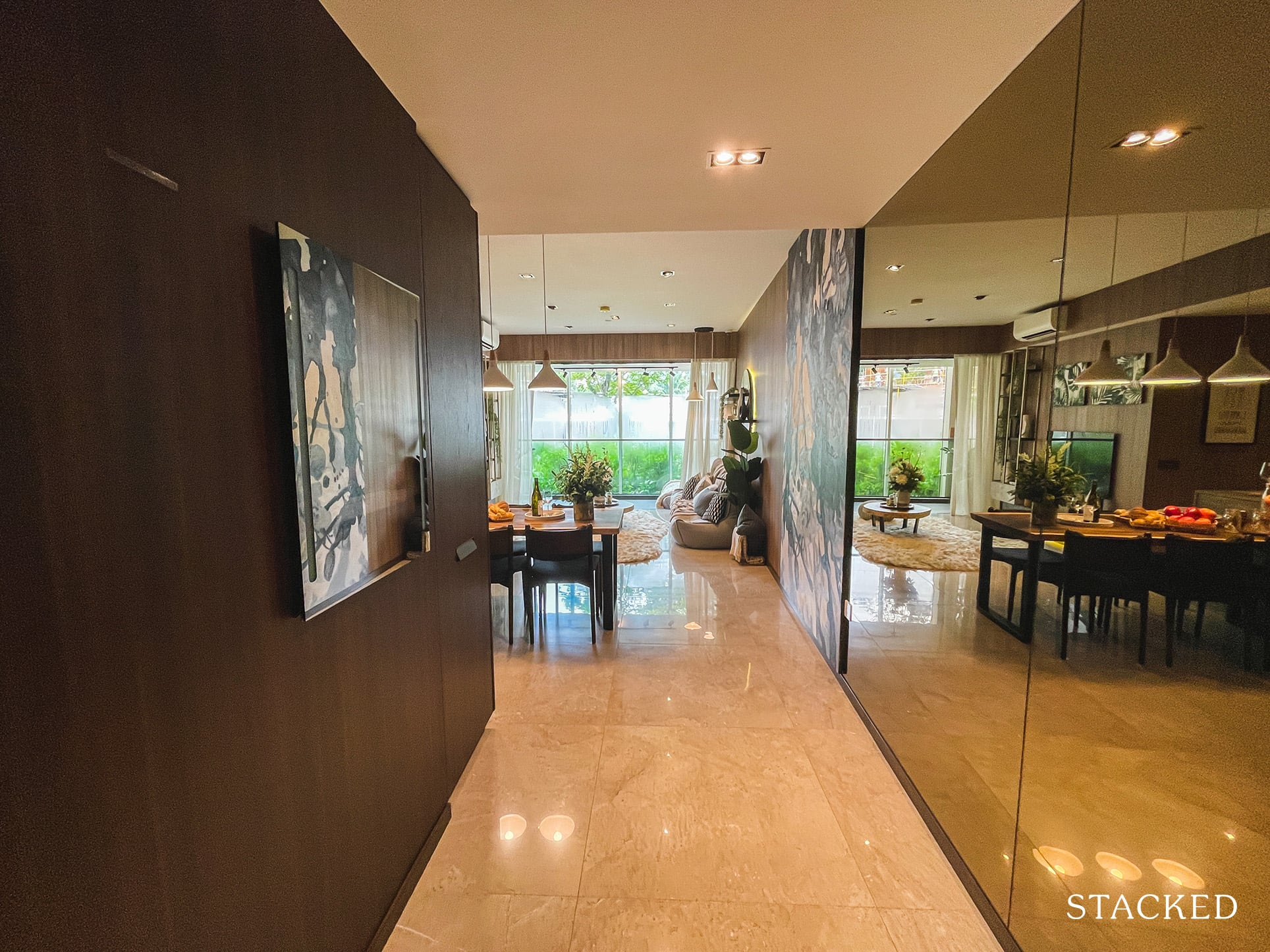 one pearl bank 3 bedroom entrance