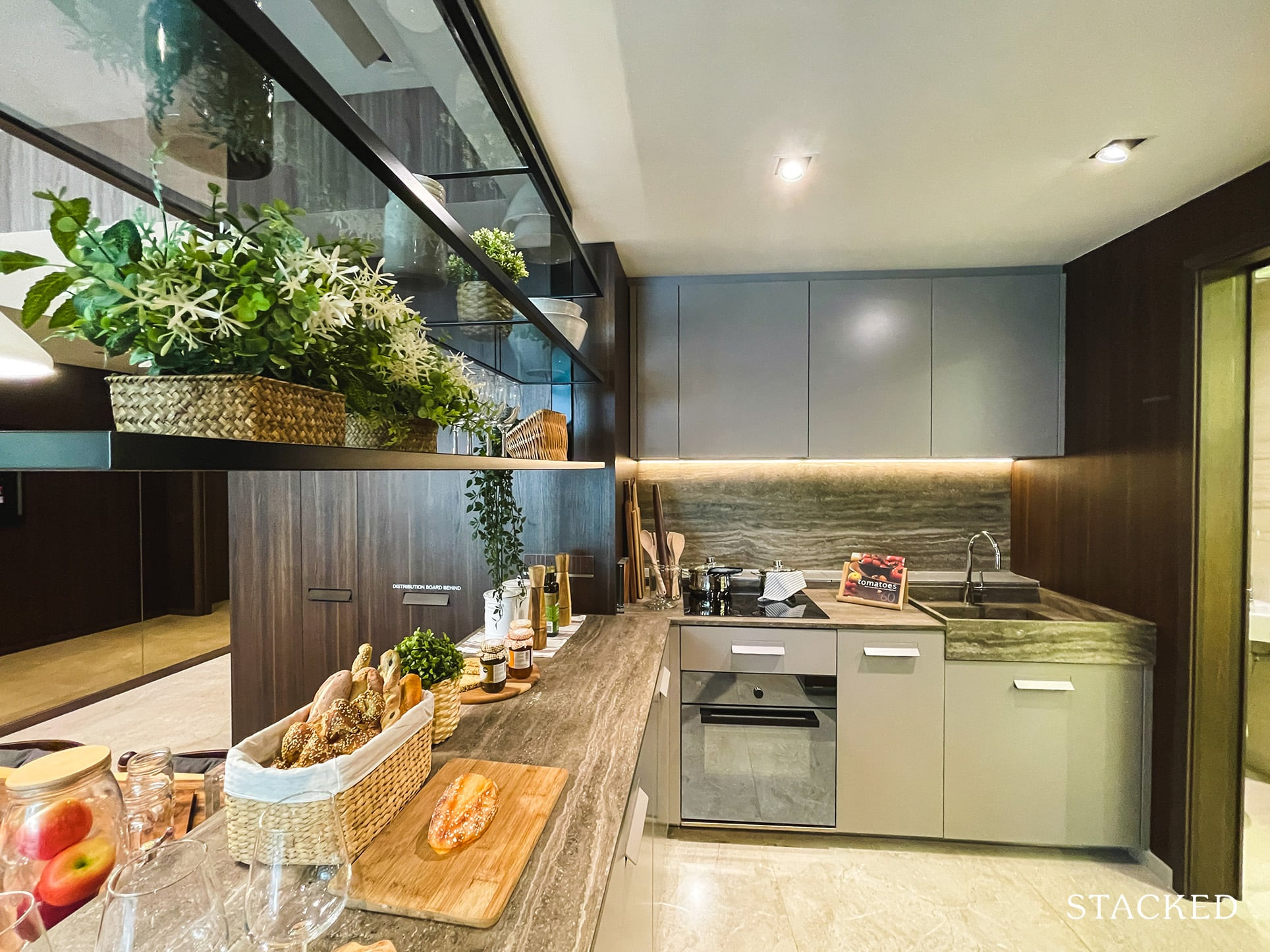 one pearl bank 3 bedroom kitchen