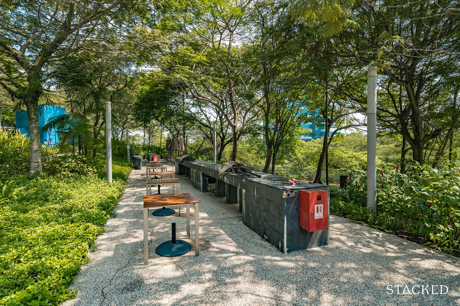 the interlace bbq pit
