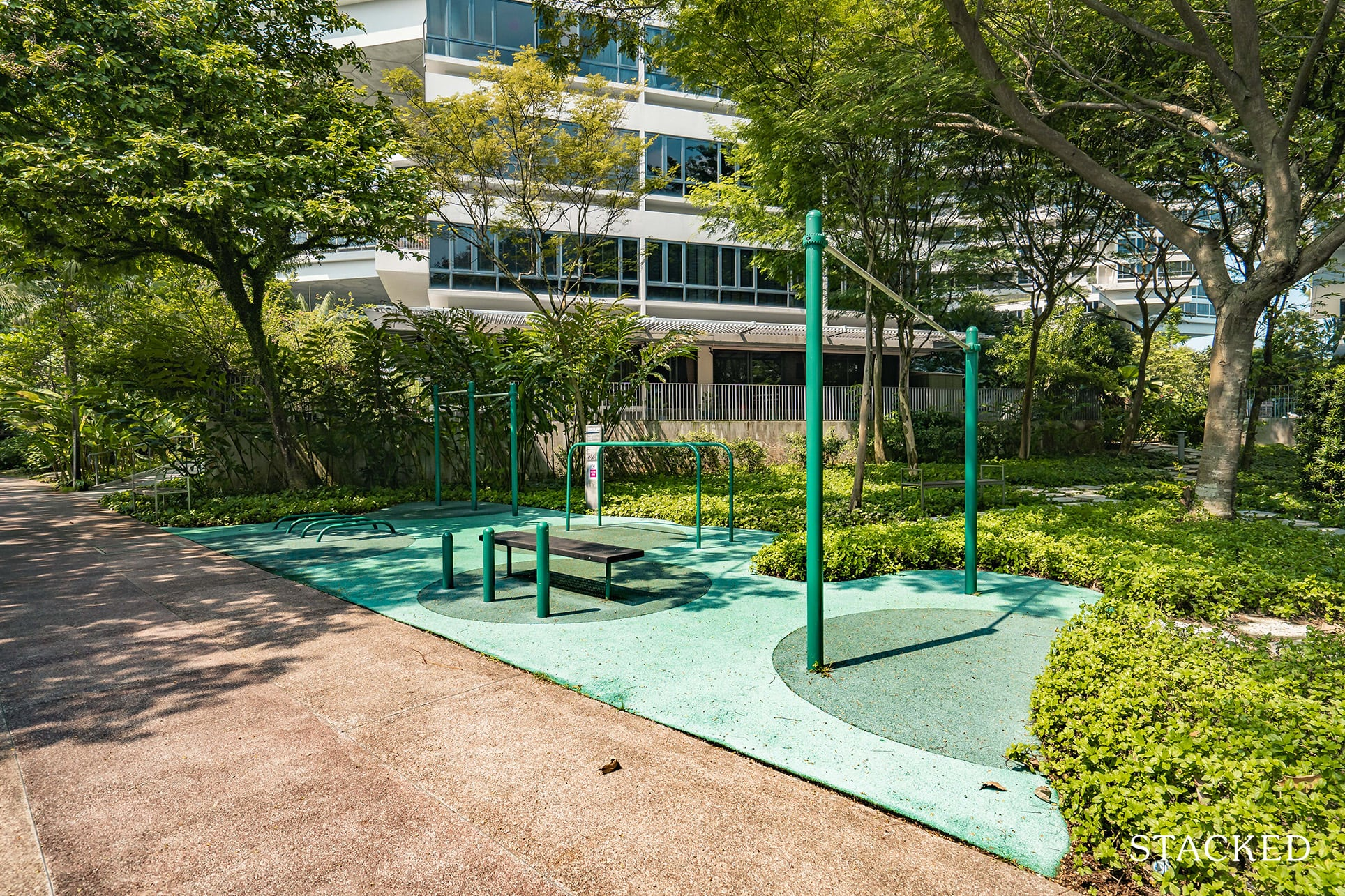 the interlace fitness station
