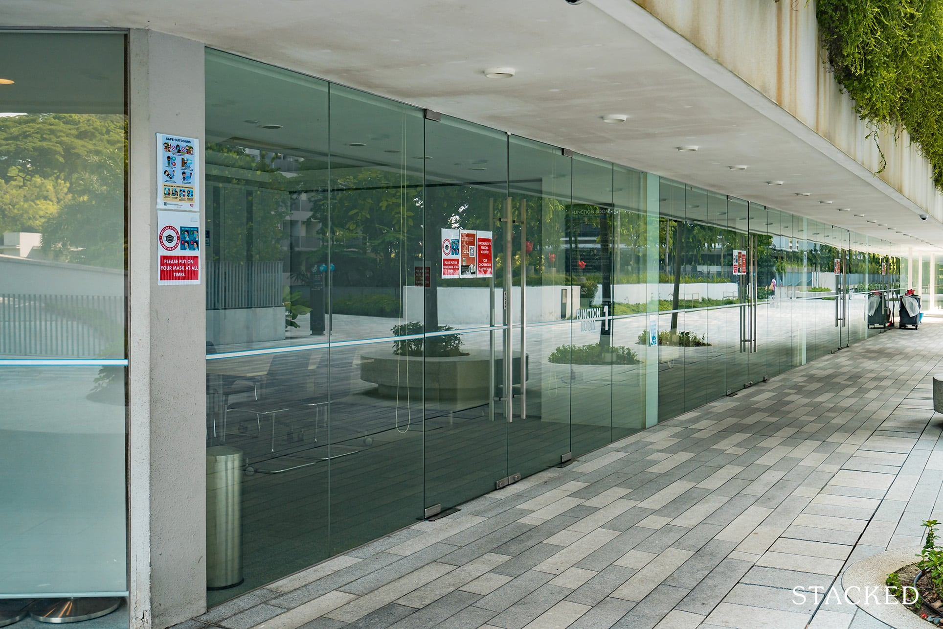 the interlace function rooms