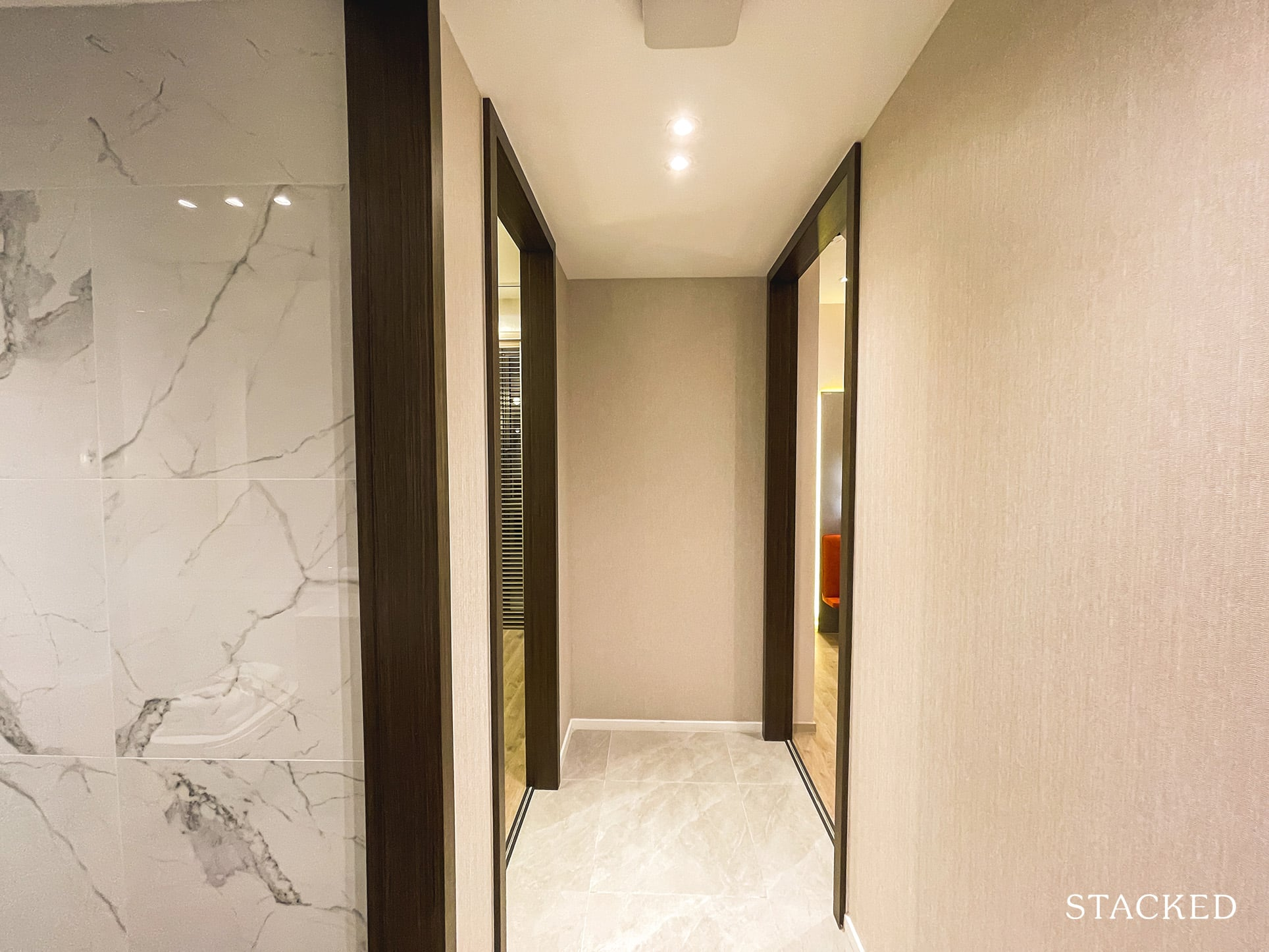 the watergardens at canberra 2 bedroom hallway