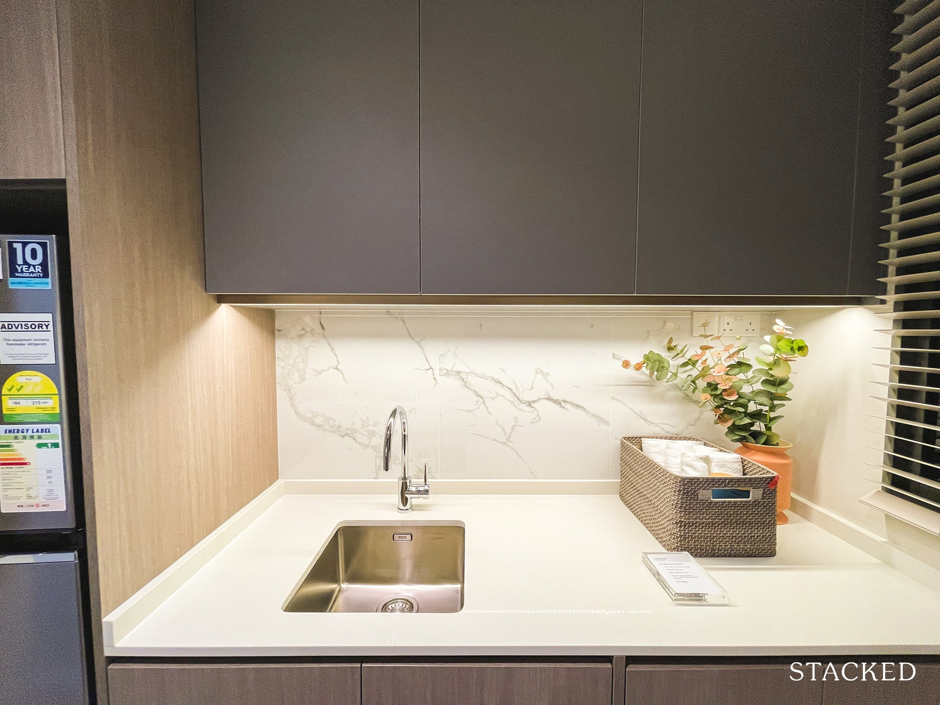 the watergardens at canberra 2 bedroom kitchen
