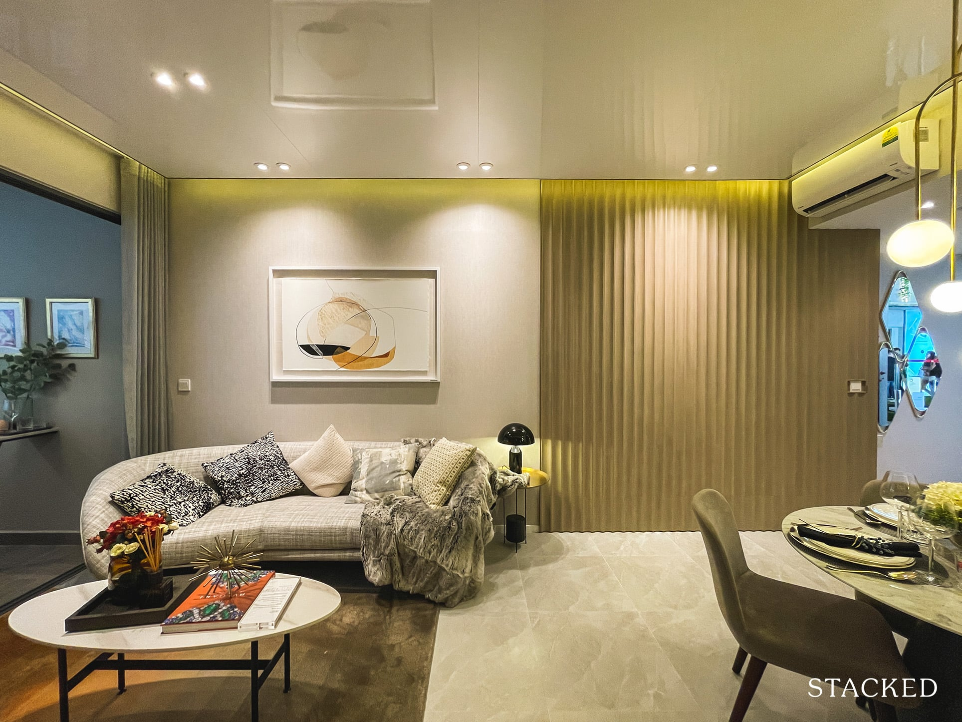 the watergardens at canberra 2 bedroom living dining
