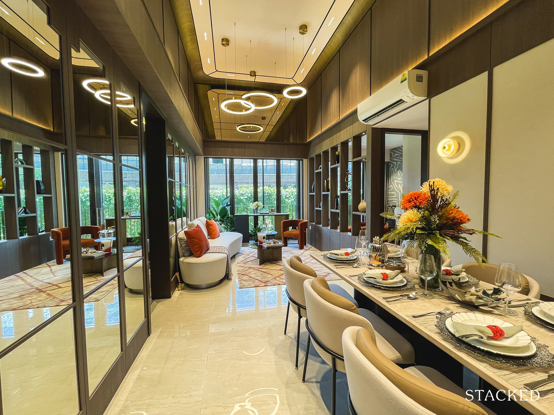 the watergardens at canberra 4 bedroom dining