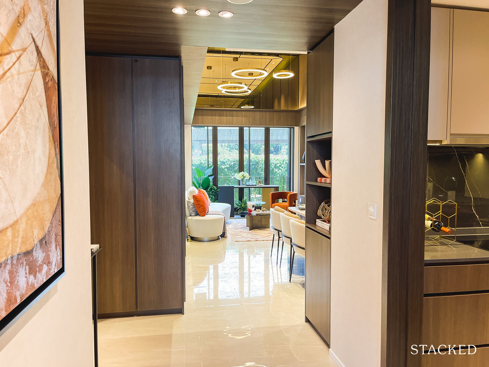 the watergardens at canberra 4 bedroom entrance