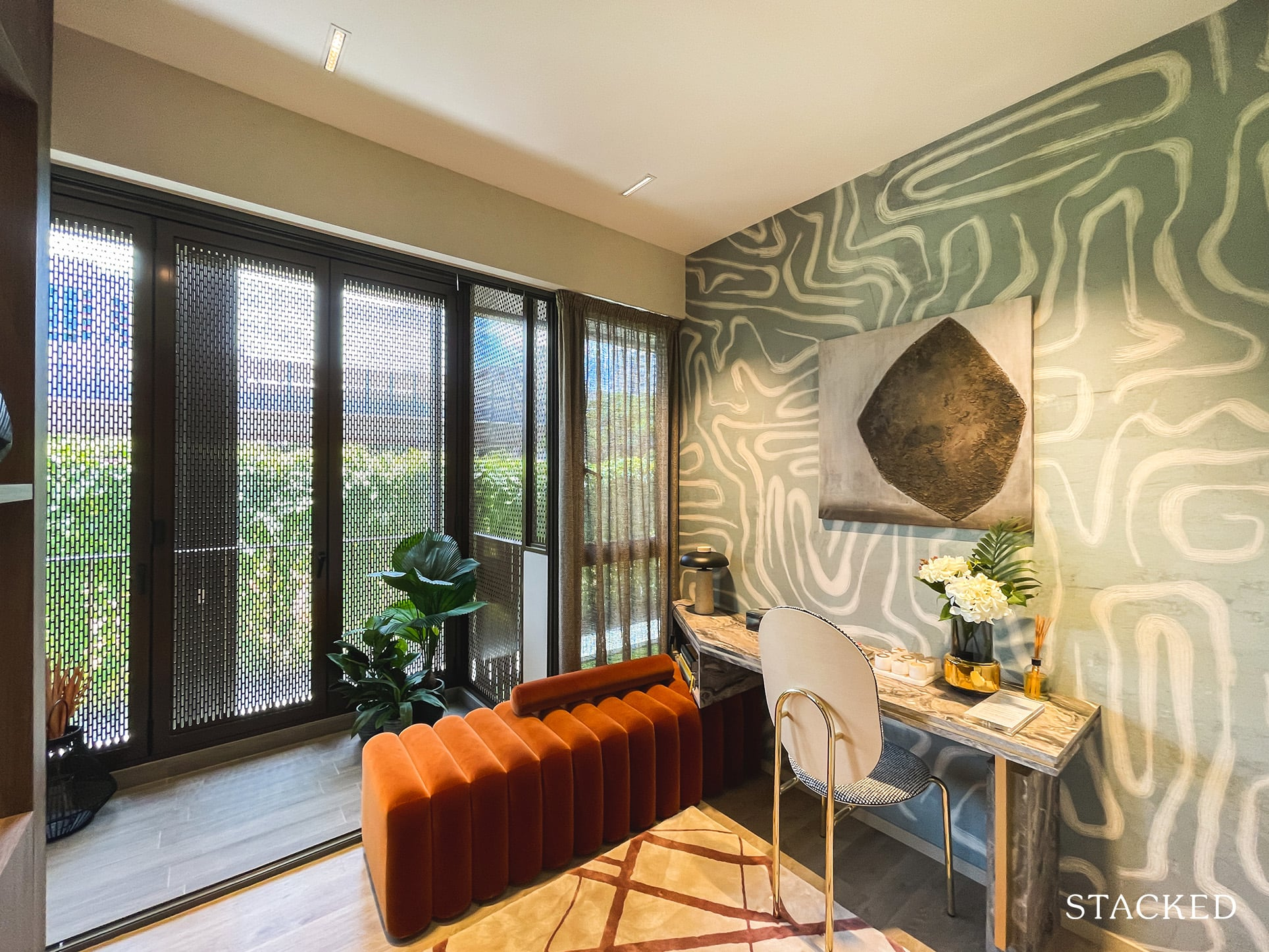 the watergardens at canberra 4 bedroom study
