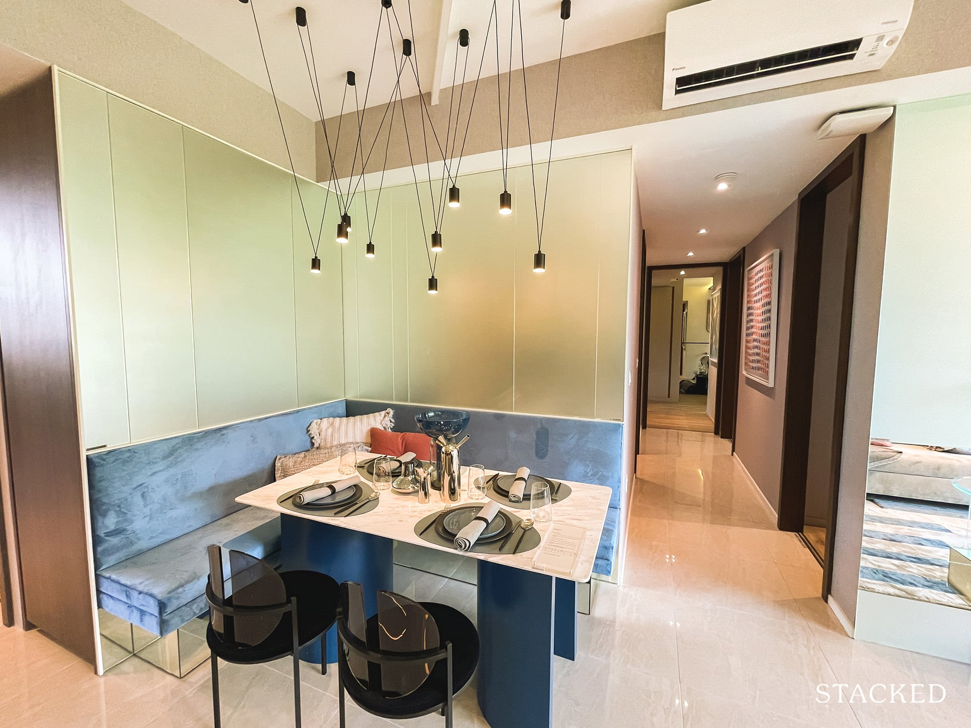 the watergardens at canberra 3 bedroom dining