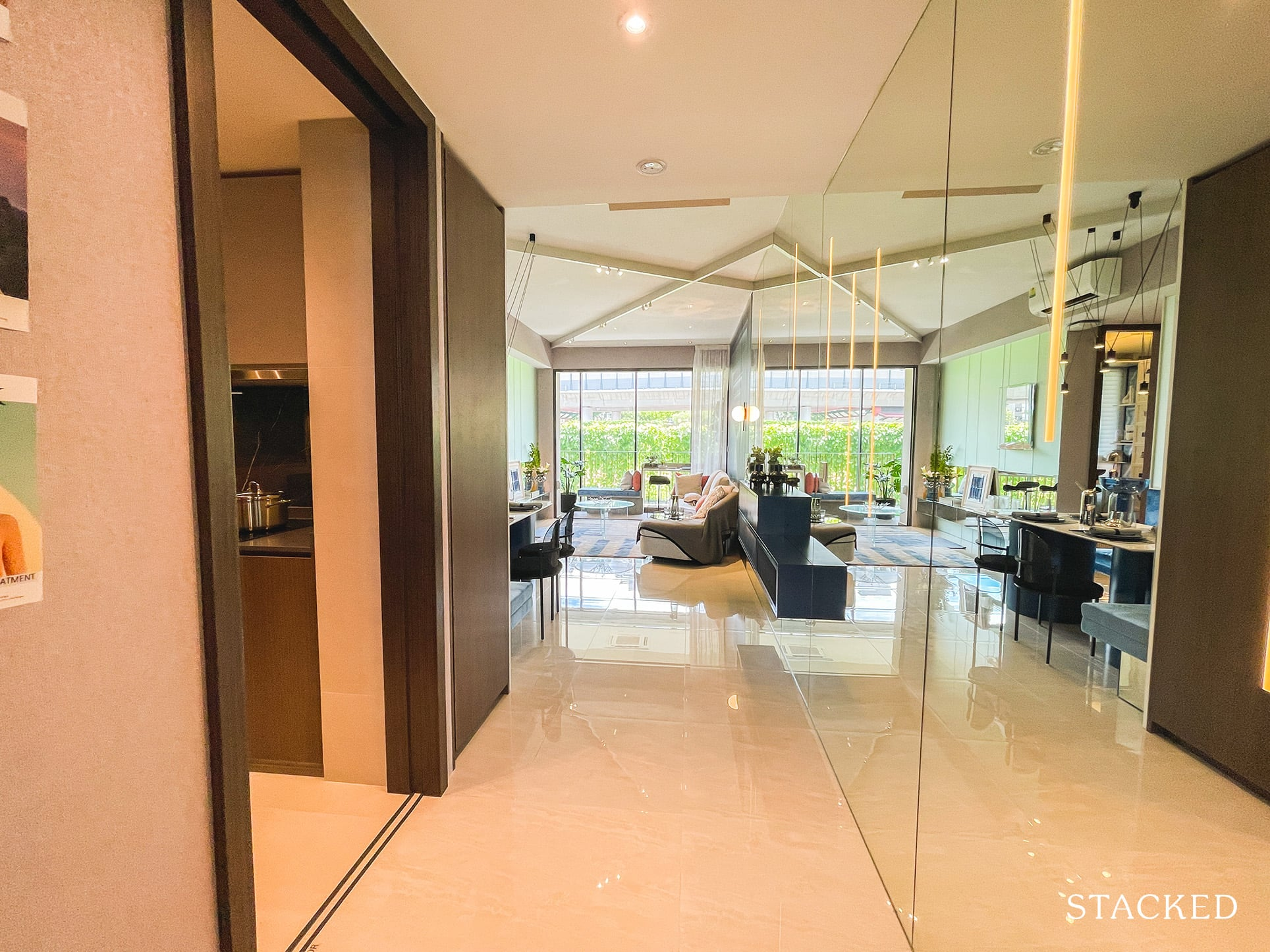 the watergardens at canberra 3 bedroom entrance