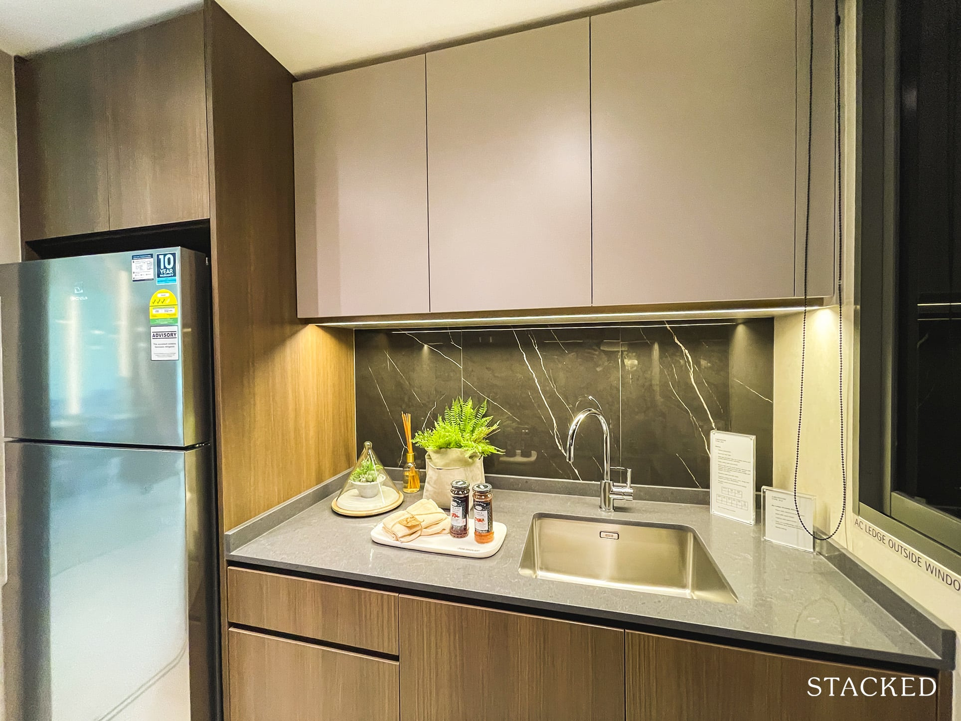 the watergardens at canberra  3 bedroom kitchen