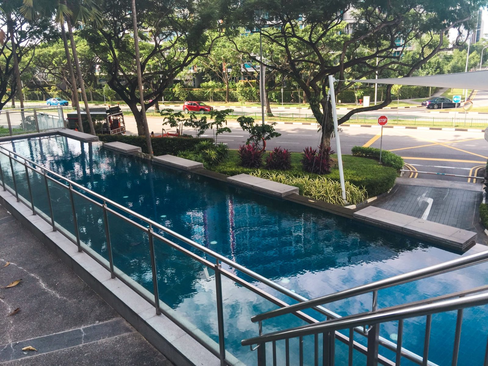waterview condo pool