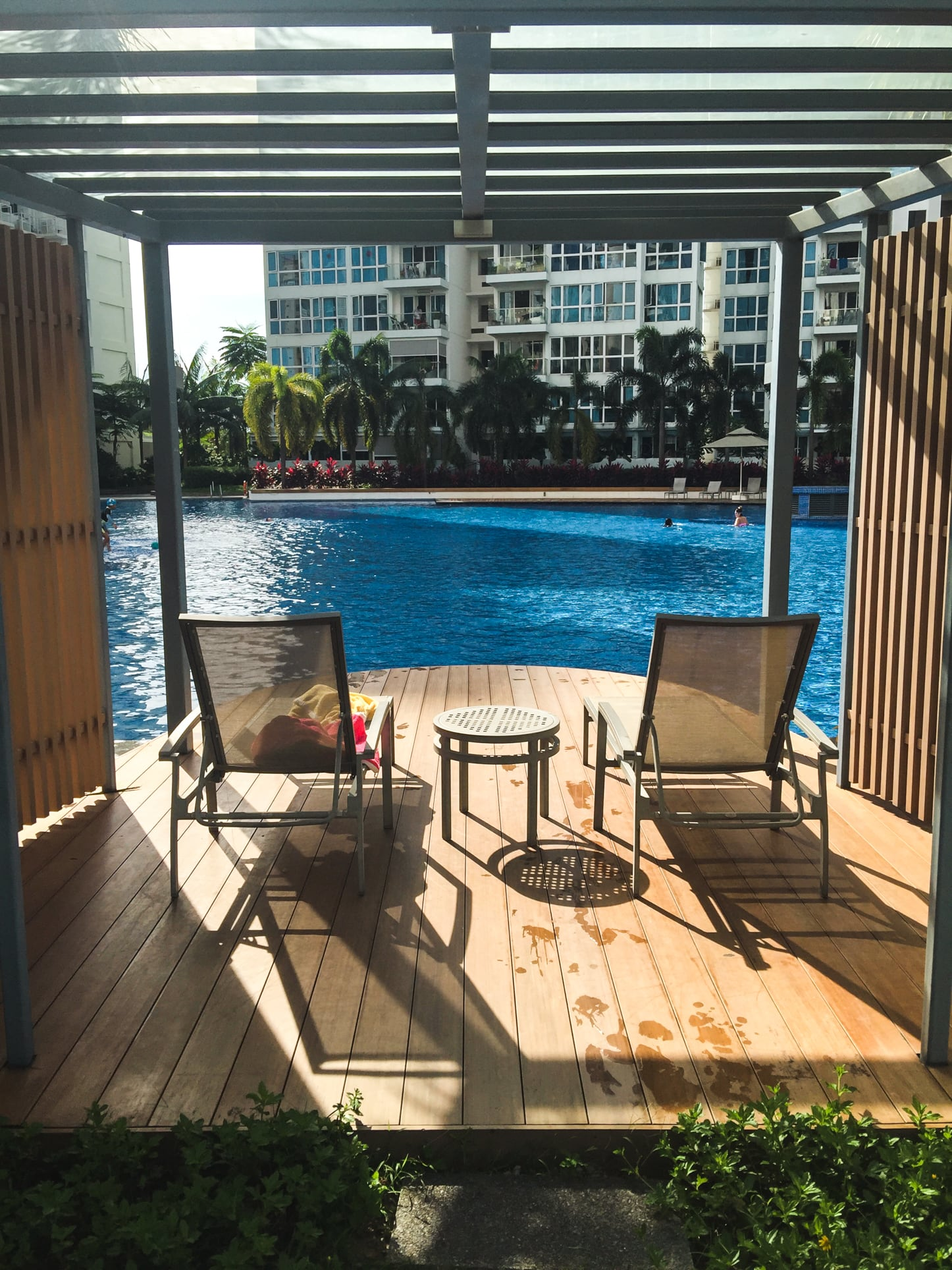 waterview condo pool deck