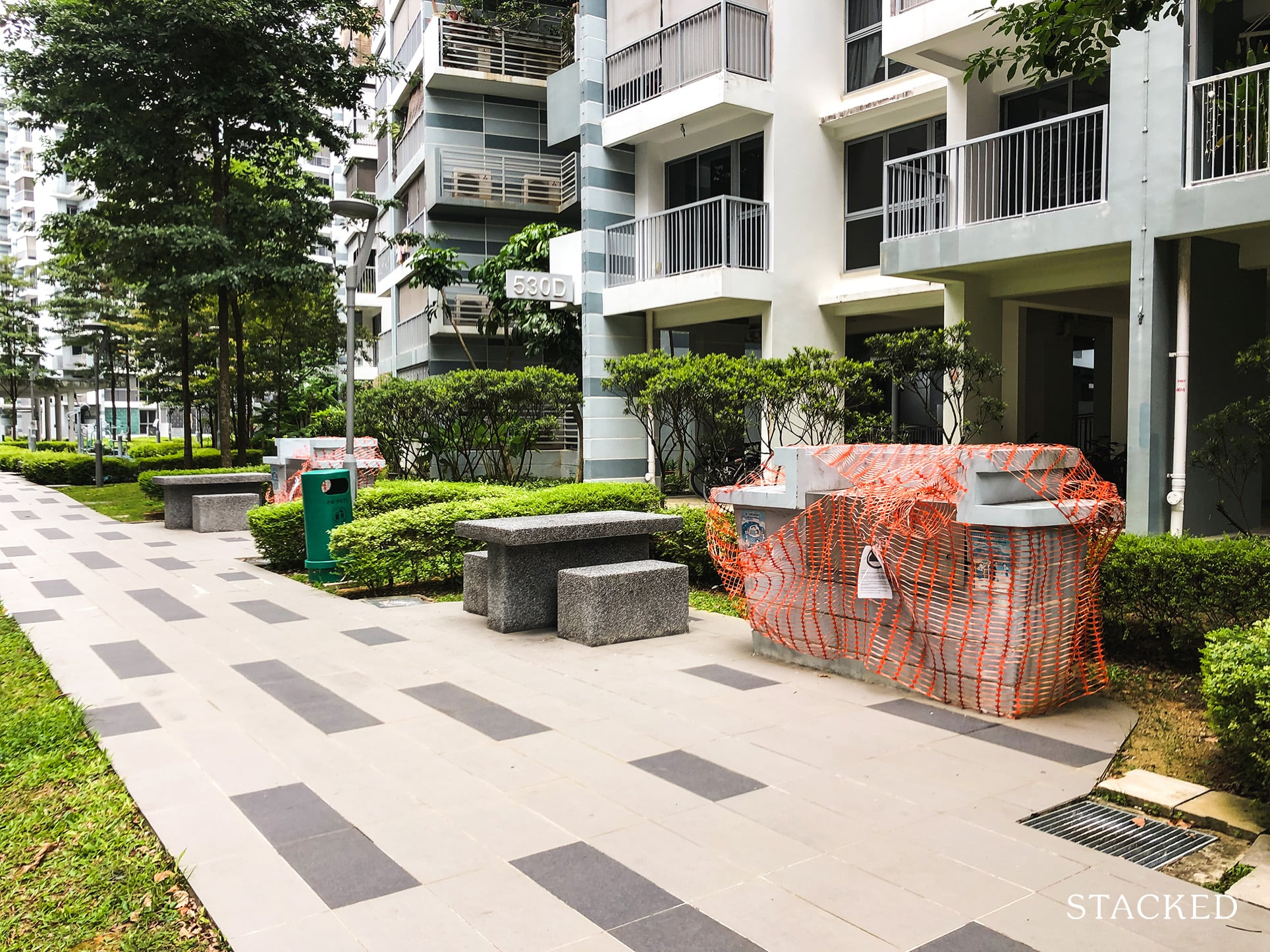 Pasir Ris ONE DBSS Barbeque Pit