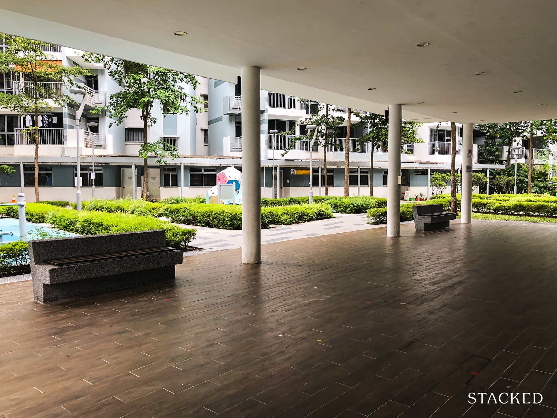 Pasir Ris ONE DBSS Sheltered Pavilion